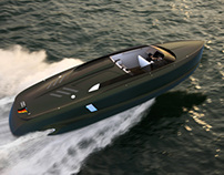 Yacht Design - Audi Powerboat