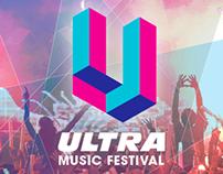 Ultra Music Festival Rebrand