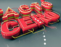 Contacto Cero | Typography Poster