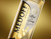 Milk & honey vodka «Medoff»