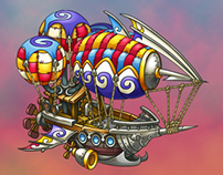 Airship for Skyburg game