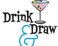 Drink and Draw Logo