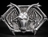 Fourspeed X Mark Riddick buckle details