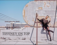 """Tiffiney on Top"" for Elegant Magazine December 2013"