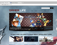 Gamer Life Website
