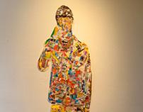Candy Man + Trash Bin