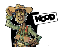Imagine Woody from toy story was a black man named Wood