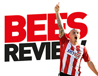 Bees Review Football Match Day Programme