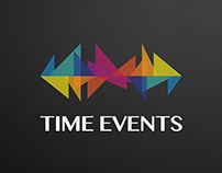 TIME EVENTS | Logo & Identity