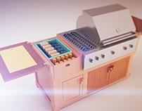 Cabinet 3D Renders