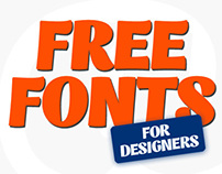 Beautiful Free Fonts for Designers