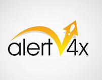 Logo Alert 4X