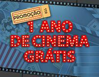 Promoção 1 Ano de Cinema Gratis
