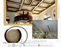 Artesonado / Ornamental &Decorative Painting on Ceiling