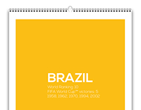 World Cup 2014 - Wall Calendar