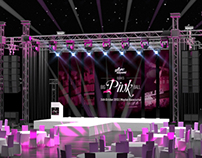 Pink Ball Event Stage
