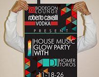 Poster Design Roberto Cavalli Vodka