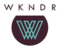 WKNDR Logo Presentation