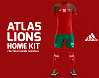 Moroccan National Team Kit Design