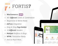 Fortis7 - Responsive Multi-Purpose Theme
