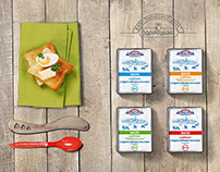 Butter package for Zdravushka milk company