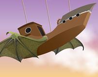 Peculiar Airship -Illustrator