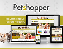 Petshopper – Ecommerce Theme for pets products