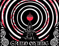 Vatican City Vinyl Grand Opening Flyer