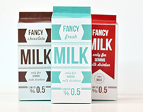 FANCY MILK - Only for serious milk drinkers