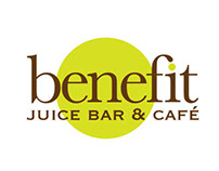 Benefit Juice Bar and Café Logo