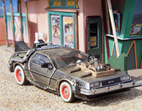 Back To The Future Part III Diorama