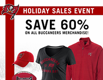 2013 Buccaneers Holiday Sale  Collateral