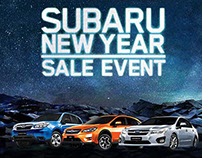 Html5 Banner Subaru 2015 New Year Sale