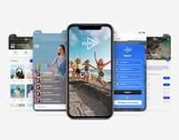 Live Streaming App Design