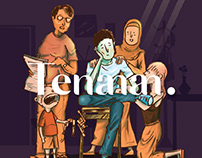 Illustration for Tenananzine vol.I