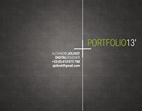 Portfolio_2nd semester of 2013