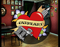 Logo Tattoo studio/ CarmeArt