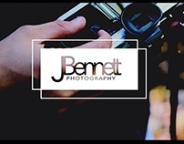 Business card design for Jacob Bennett Photography