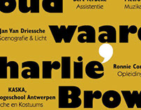 Charlie Brown Musical Poster
