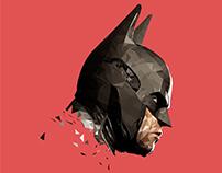 Polygon Illustration art : BATMAN