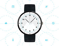 Facer Android Wear Smart Watch Face Creator UX