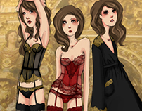 Baroque Lingerie Collection
