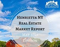 Henrietta NY Real Estate Market Report May 2017 Edition