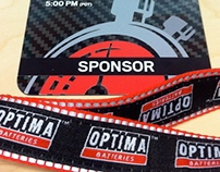 OPTIMA Batteries Event Credentials