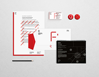 PRAXIS, CONTEMPORARY ART CENTER | Identity, Stationary