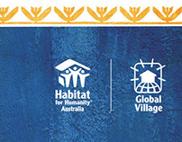 Habitat for Humanity Global Village brand refresh