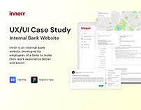 Internal Bank Website - UX/UI Case Study