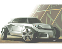 4th Year Vehicle Design Studio Project