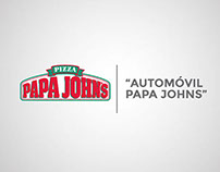 Propuesta Mini Cooper Papa Johns CR.