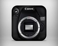 Canon 70D icon.